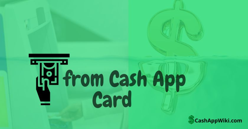 withdraw from my Cash App Card